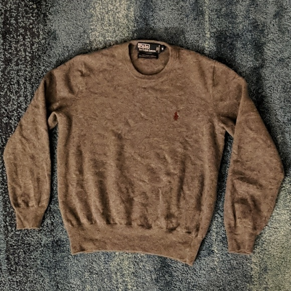 Polo By Ralph Lauren Sweaters Vintage Polo By Ralph Lauren Merino Wool Sweater S Poshmark